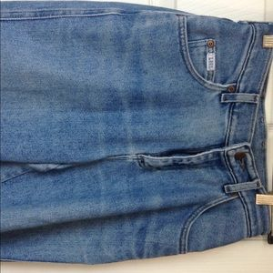 High-rise stretchy Original Lee Jeans